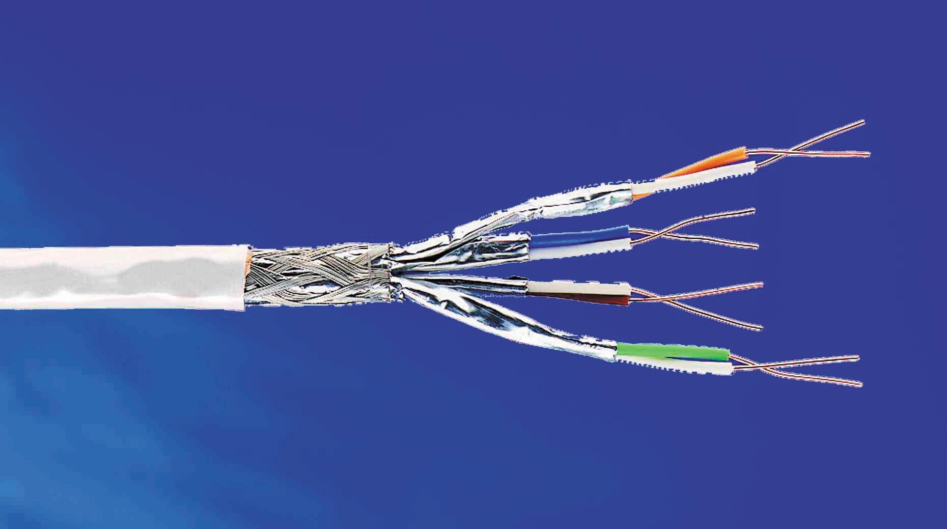 چگونه یک کابل شبکه یا اترنت درست کنیم؟